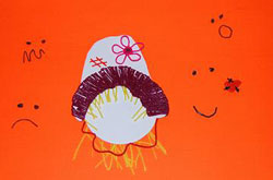Scarecrow Faces Crafts for Kids