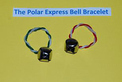 Polar Express Bell Bracelet Crafts for Kids