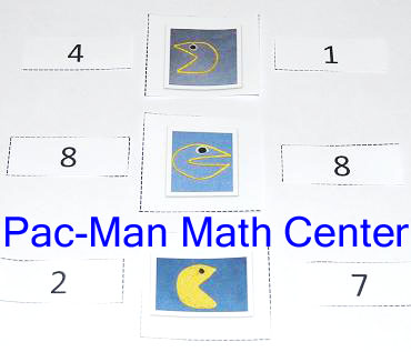 PacMan Inspired Math