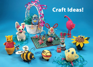 Easter Egg Crafts for kids & Inspired by Savannah: Decorate Your Easter Eggs with Wikki Stix This ...