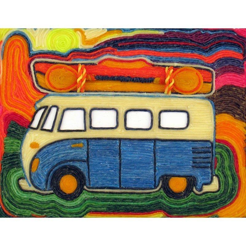 Retro V.W. Bus