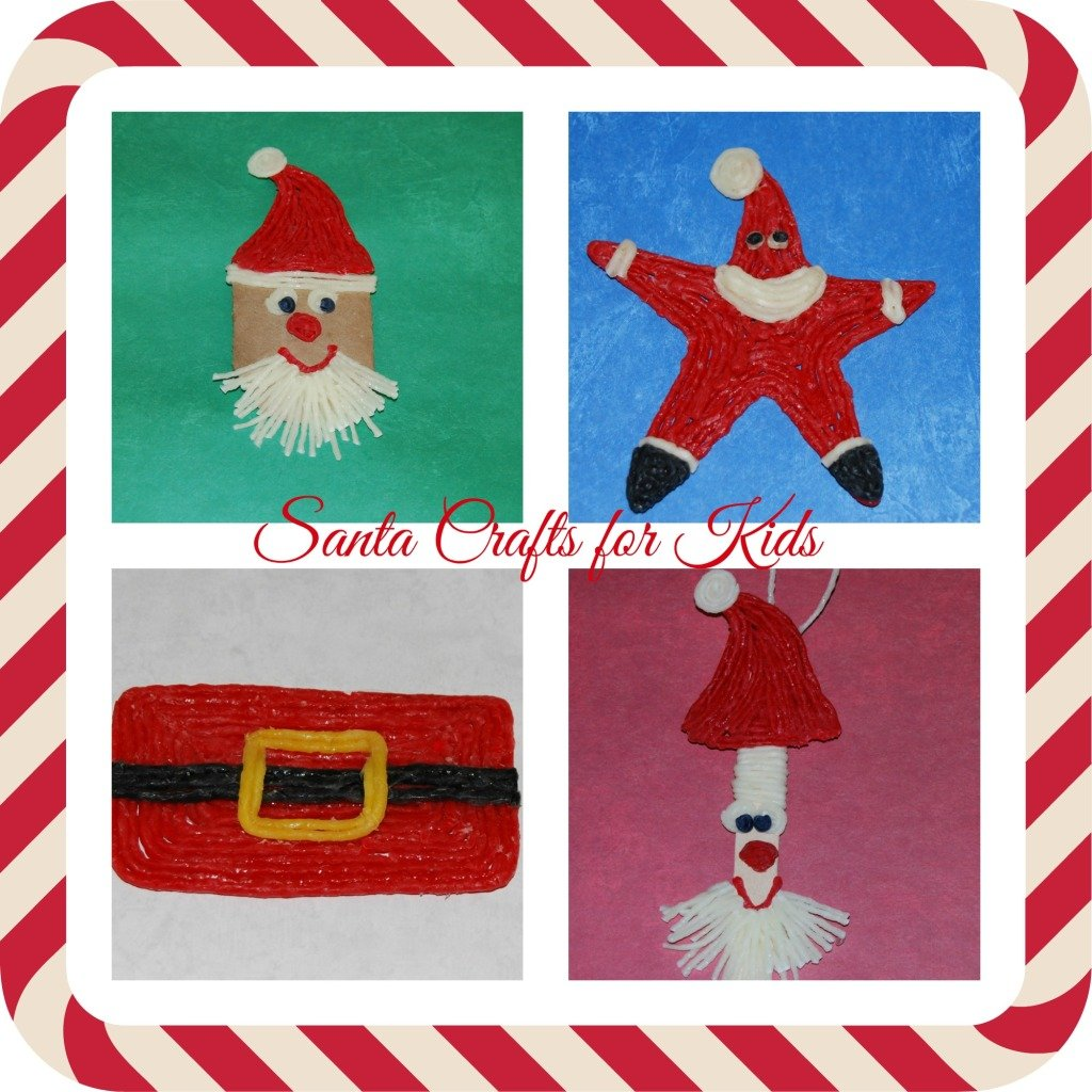 Wikki Stix Santa Crafts for Kids of All Ages!