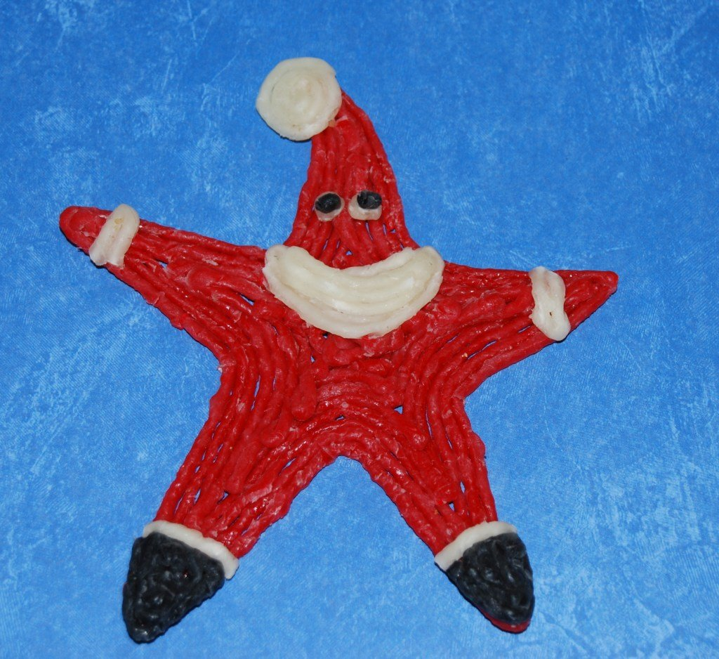 SANTA STAR CRAFTS for Kids!