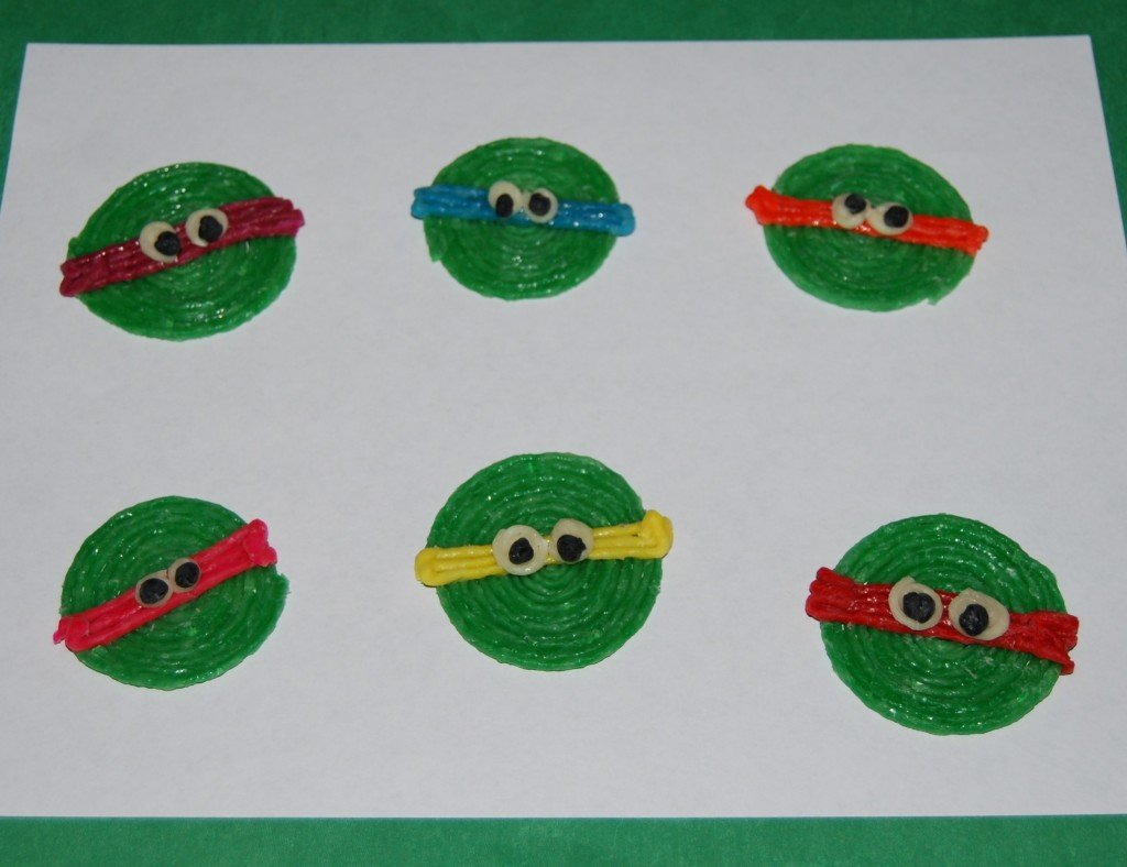 Ninja Turtle Crafts for Kids