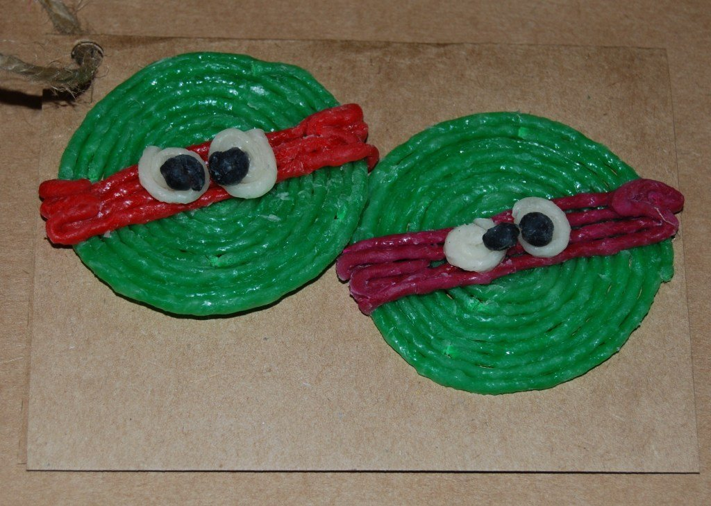 Ninja Turtle Gift Tag Craft