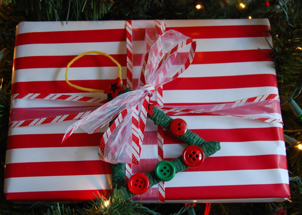 Wikki Stix Ornament Crafts for Packages